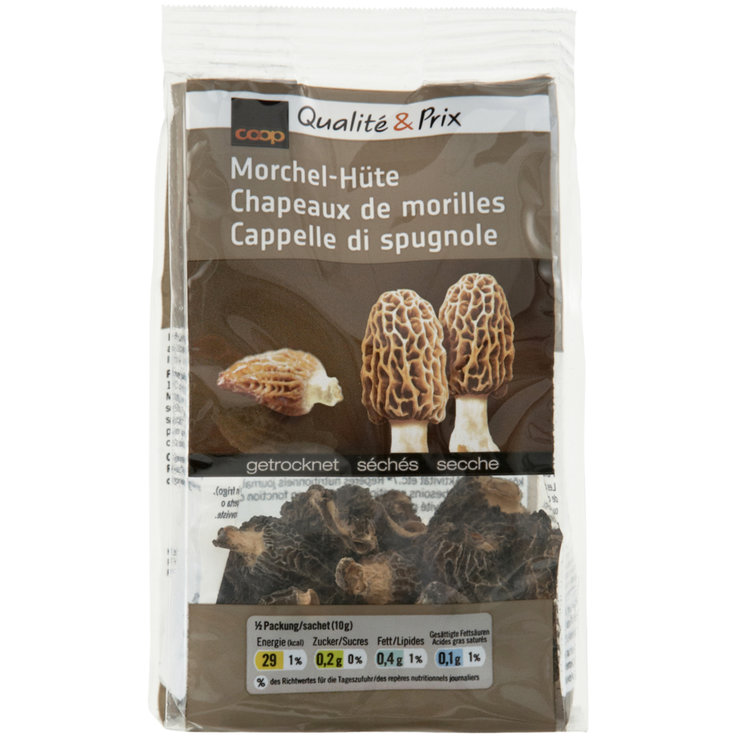 Mushrooms - Dried Morel Mushroom Caps