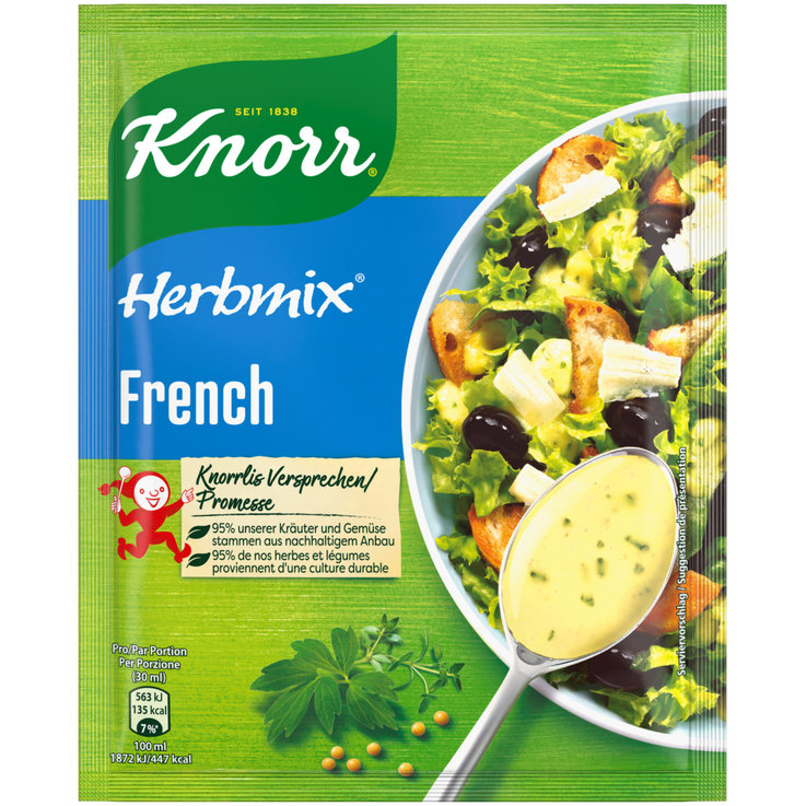 Mix di spezie - Knorr Herbmix per French Dressing