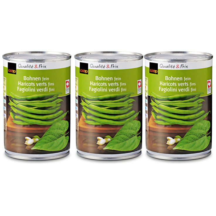 Beans & Pulses - Canned Green String Beans 2x  210g