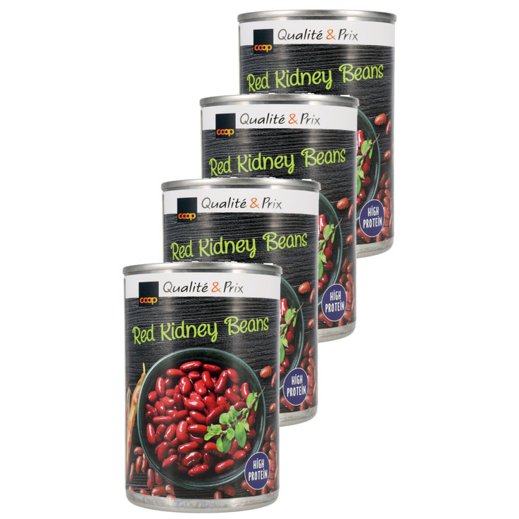 Beans & Pulses - Canned Red Kidney Beans 4x  290g