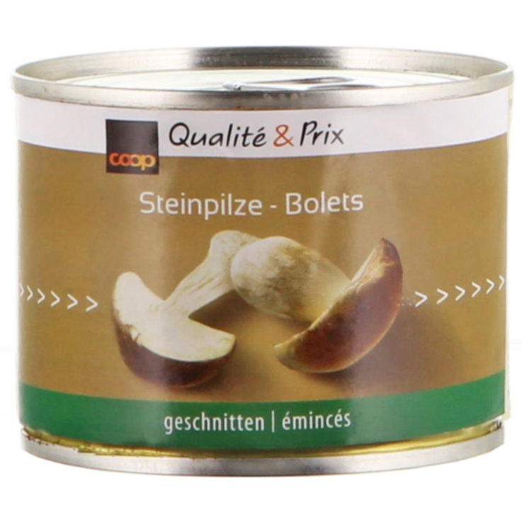 Mushrooms - Canned Sliced Boletus Mushrooms