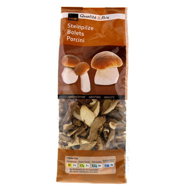 Mushrooms - Dried Boletus Mushrooms