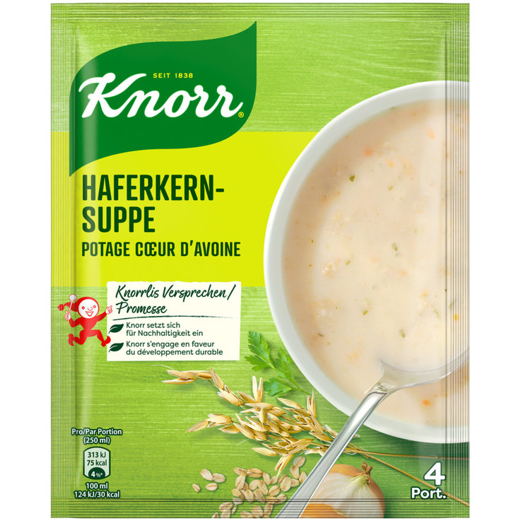Grain & Spicy Soup - Knorr Oat Flakes Soup Mix