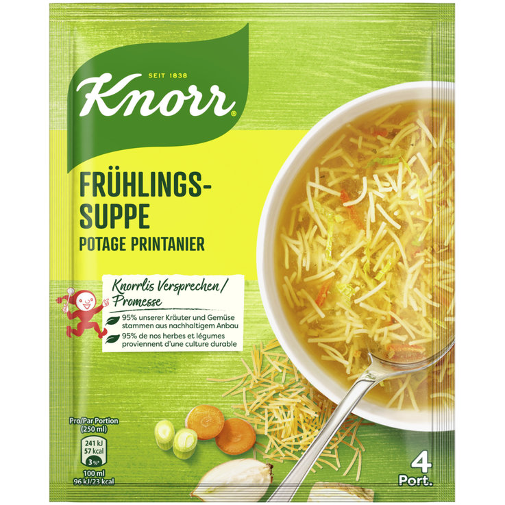 Clear Soup - Knorr Primavera Soup Mix