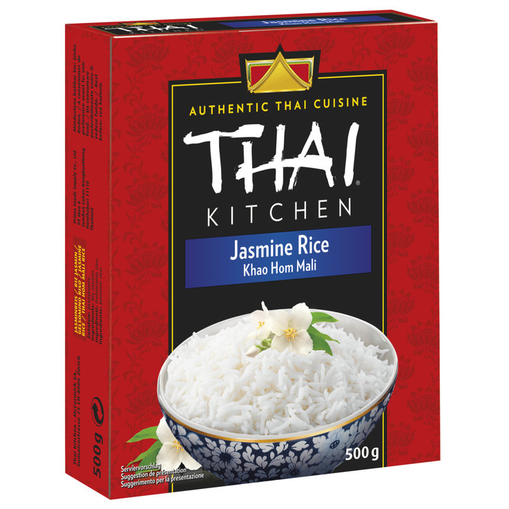 Basmati & Perfume Rice - Thai Kitchen Riso jasmine 500g