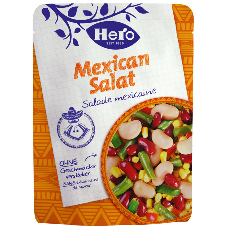 Salatkonserven - Hero Canned Mexican Salad
