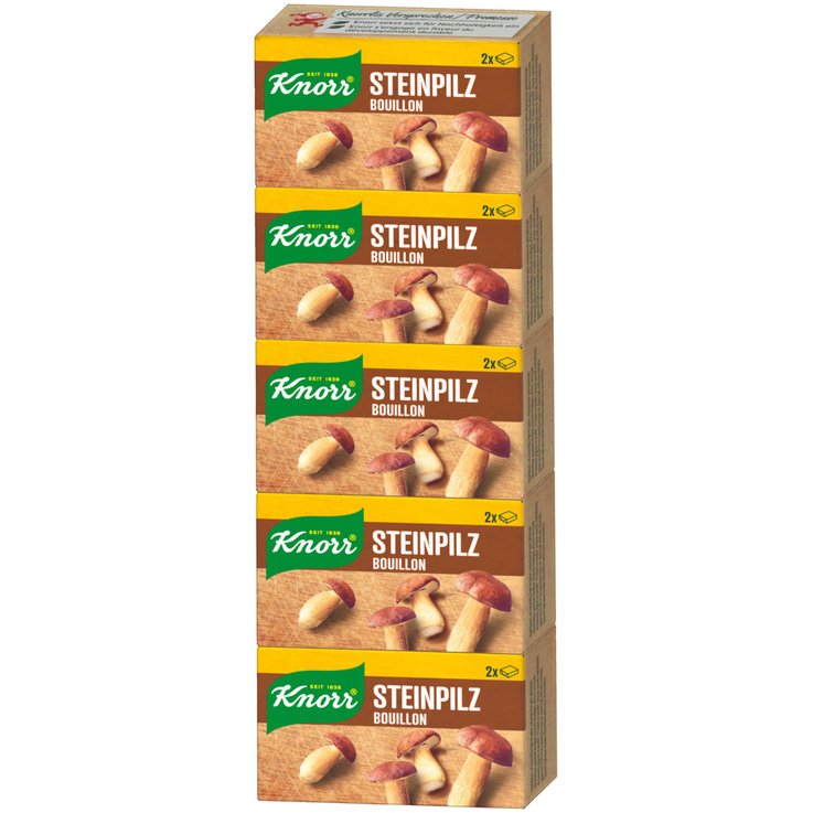 Special Bouillons & Stocks - Knorr Boletus Stock 5x20g