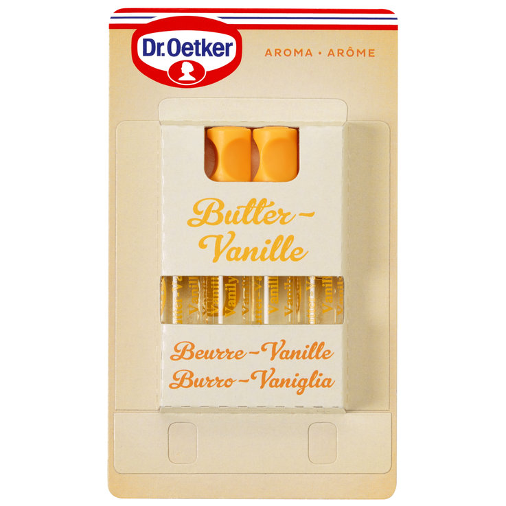 Fruit & Flavourings - Dr. Oetker Vanilla Extract 4 Pieces
