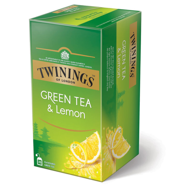 Green Tea & White Tea - Twinings Lemon Green Tea 25 Bags