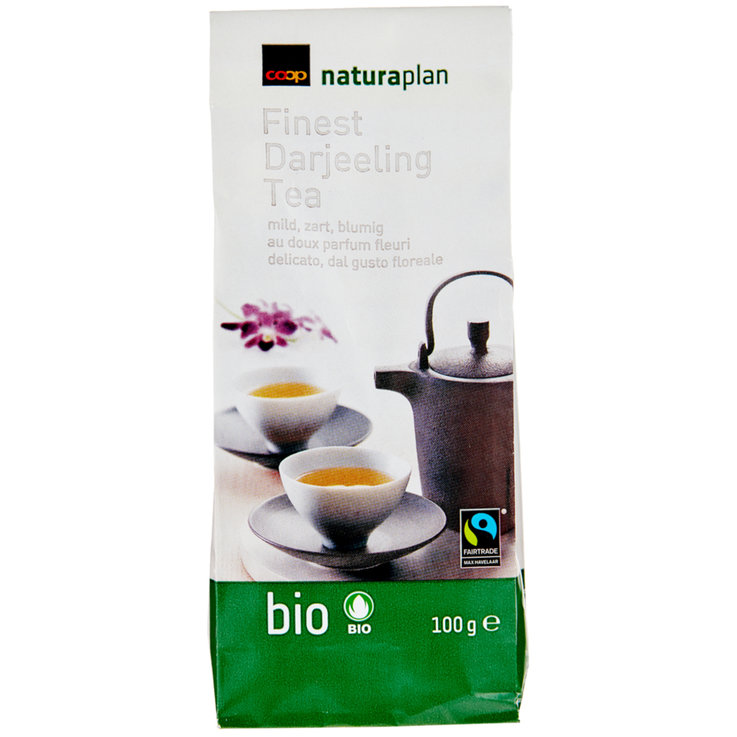 Black Tea - Naturaplan Organic Fairtrade Darjeeling Tea
