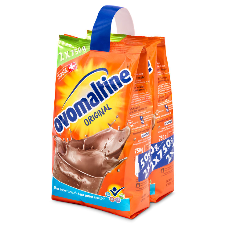 Ovomaltine & Malt Drinks - Ovomaltine Chocolate Powder Beverage Mix 2x750g