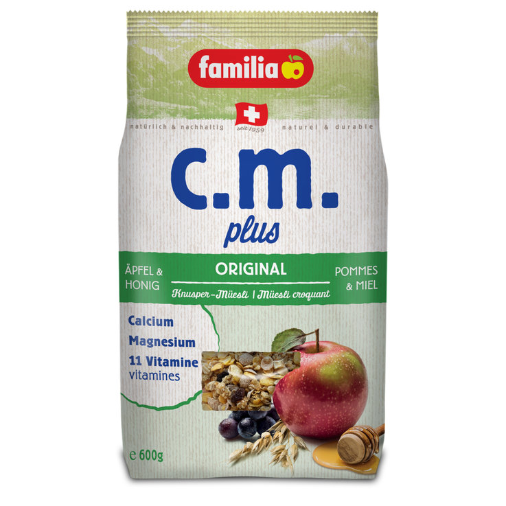 Muesli without Chocolate - familia c.m. plus Original Crunchy Muesli