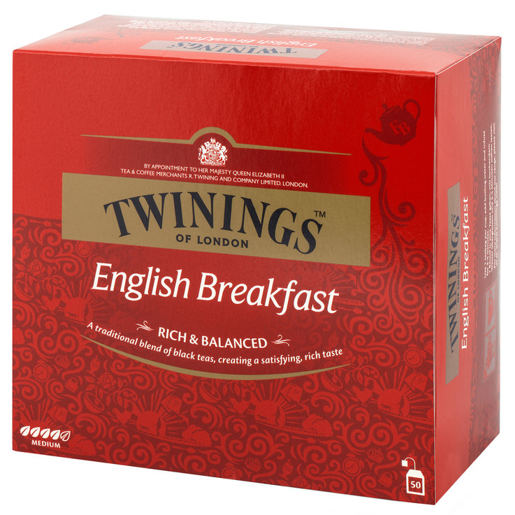 Thé noir - Twinings Thé English Breakfast 50 sachets