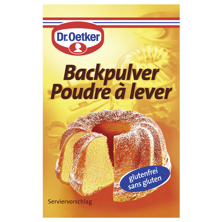 Staples - Dr. Oetker Baking Powder 5 Pieces
