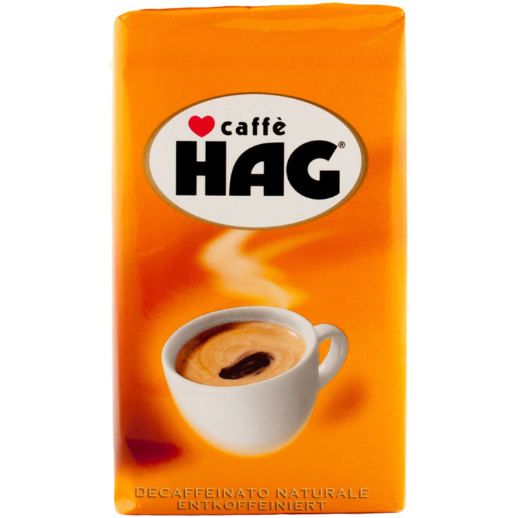 Ground Coffee - Caffè Hag Decaffeinated Ground Coffee Beans