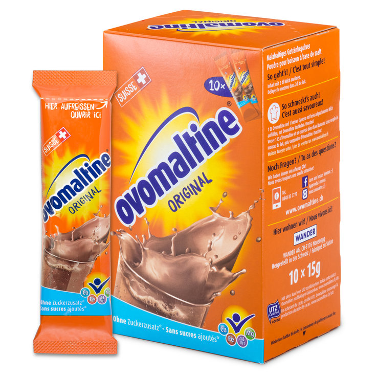 Ovomaltine & Malt Drinks - Ovomaltine Chocolate Powder Beverage Mix 10 Portions