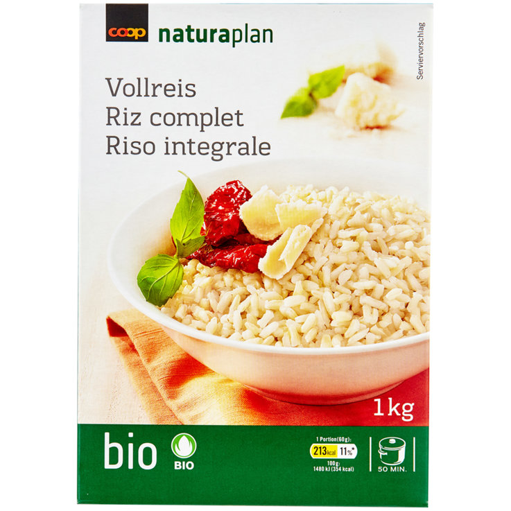 Complet & Sauvage - Naturaplan Bio Riz complet