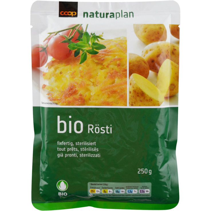 Roesti & Gratin - Naturaplan Organic Ready To Eat Rösti