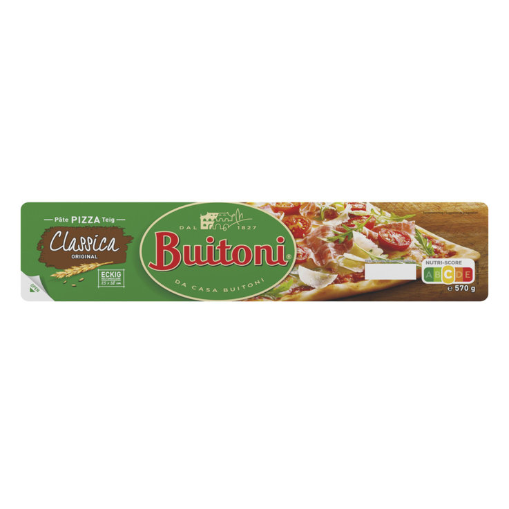 Pizza & Pasta Dough - Buitoni Rolled Out Rectangular Pizza Dough 25x33cm