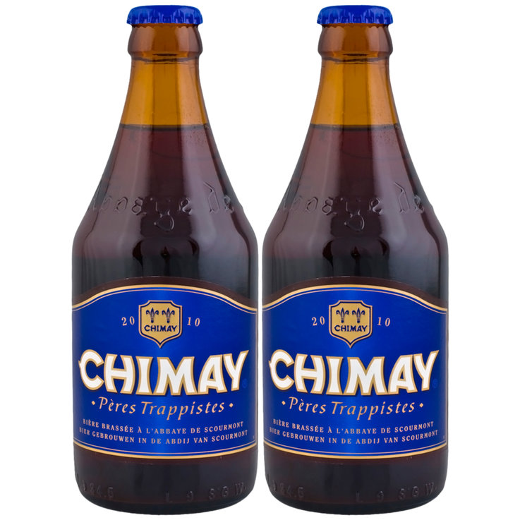 Bottles - Chimay Brown Beer 2x  33cl