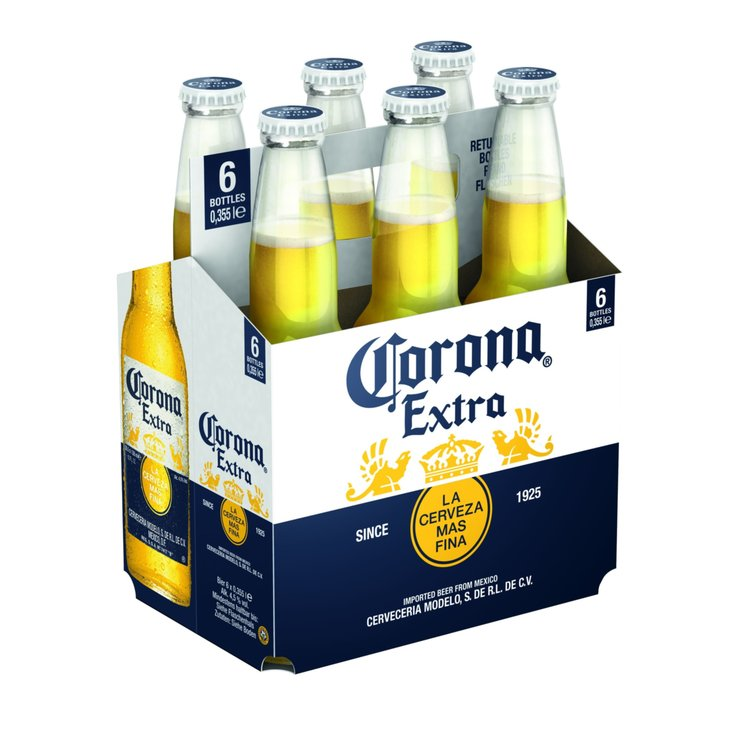 Beer Multipacks - Corona Extra Beer 6x35.5cl