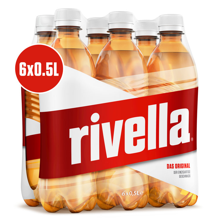 Multipacks de moins d'un litre - Rivella Rouge 6x50 cl