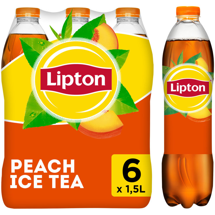 Multipacks ab 1 Liter - Lipton Ice Tea Peach 6x1,5l