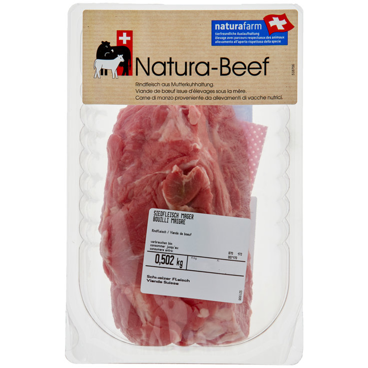 Beef - Naturafarm Stewing Beef ca. 500g