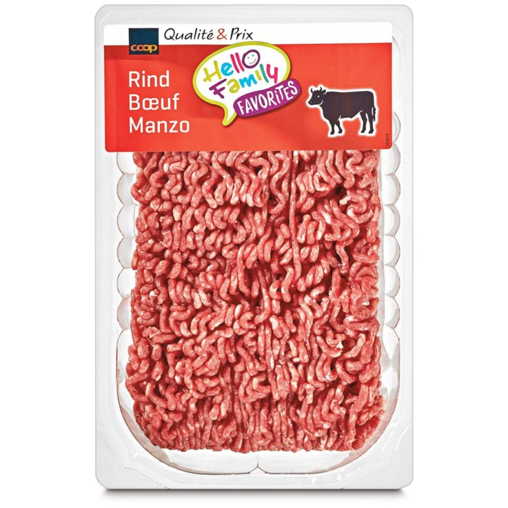 Ground Meat - Finely Ground Beef ca. 500g