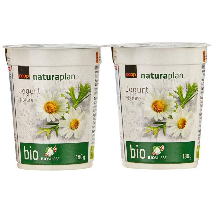 Yogurt al naturale - Yogurt nature Naturaplan bio 2x180g
