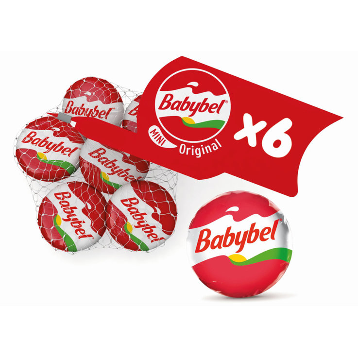 Cheese Snacks & Appetizers - Mini Babybel Cheese 6 Pieces