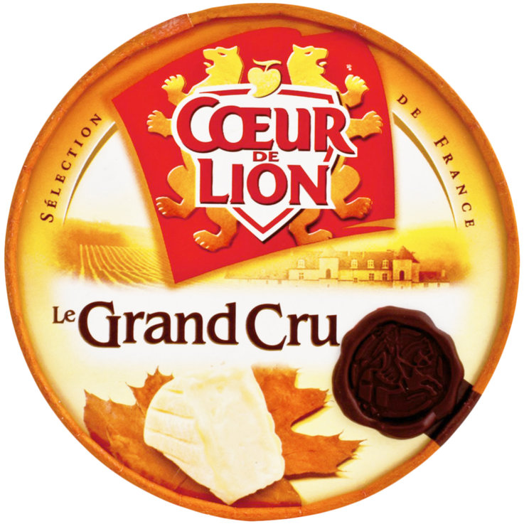 White Mould Cheese - Coeur de Lion Grand Cru Soft Cheese with Cream