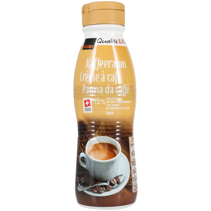 Coffee Cream - UHT Coffee Cream 15% Fat