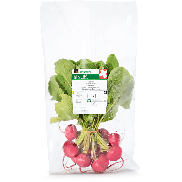 Radishes - Naturaplan Organic Radish 1 Bunch