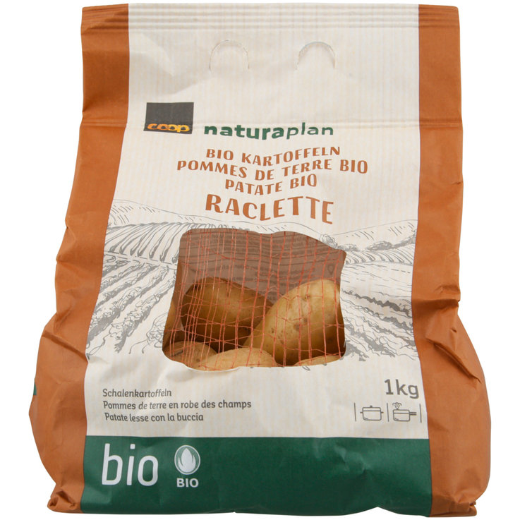 Potatoes - Naturaplan Organic Raclette Potatoes (Brown Bag)
