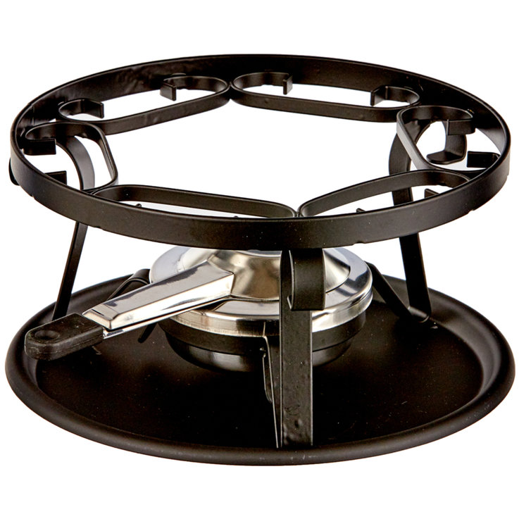 Equipment - Black Fondue Burner Set