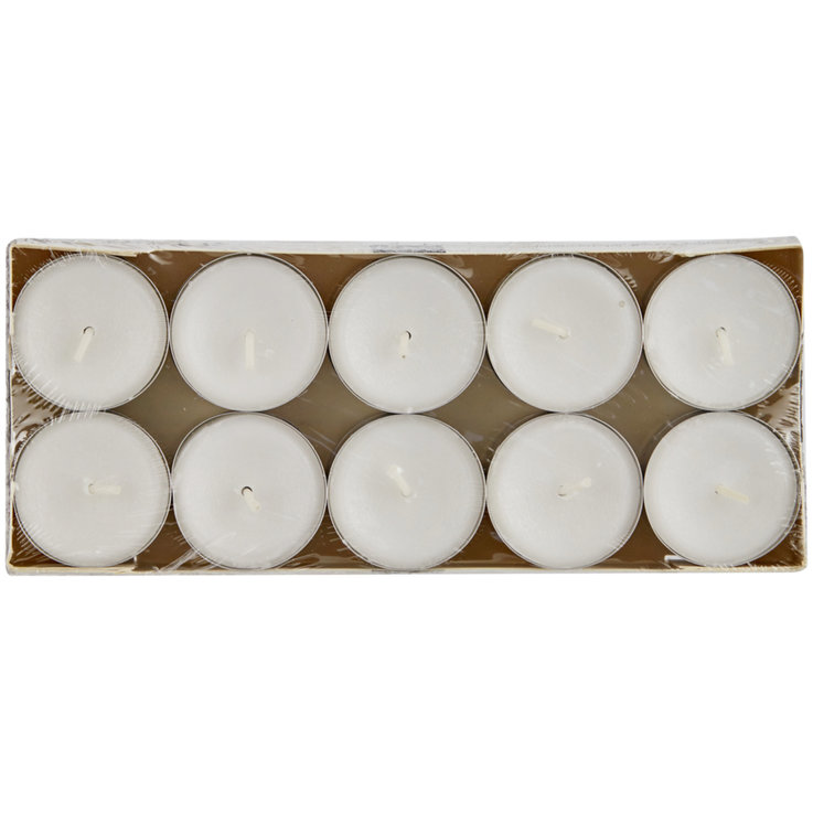 Tealights - White Tealights 20 Pieces