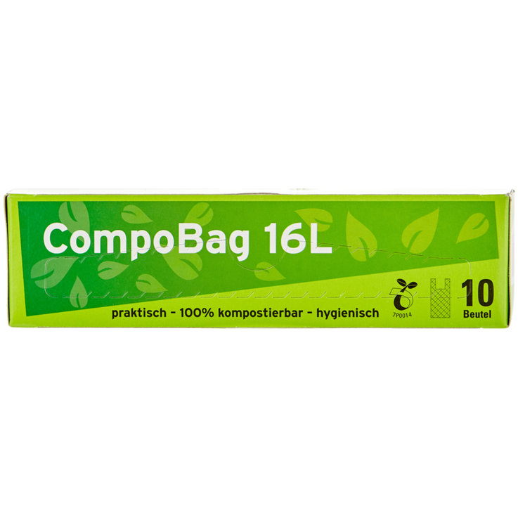 Waste bags not chargeable - Compo Bag for Compost 16l 10 Bags
