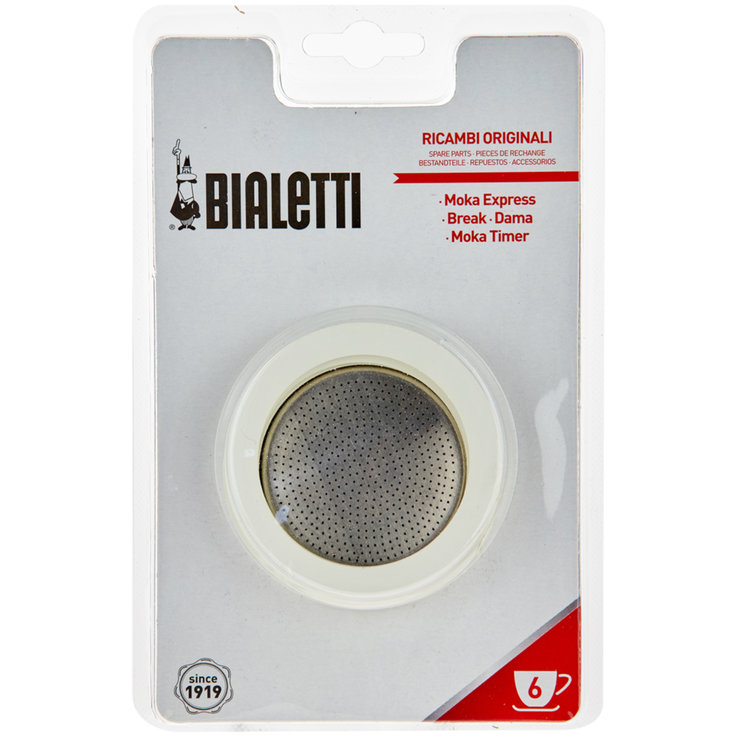 Bialetti Espresso-Stove - Bialetti Replacement Rubber Gaskets 6 Pieces 6PCE