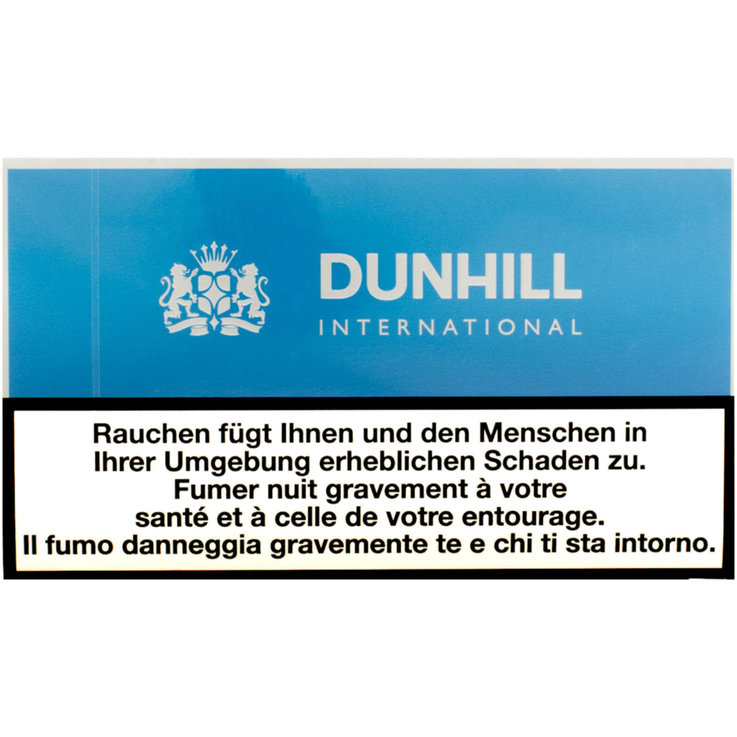 Altro - Sigarette Dunhill International Blue Flat, stecca