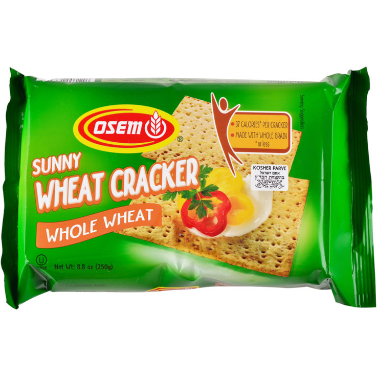 Nature - Osem Crackers au blé complet kasher