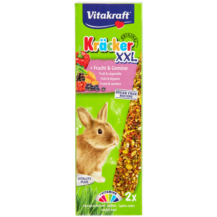 Rabbits - Vitakraft Kräcker® Super Power for Dwarf Rabbits Pack of 2