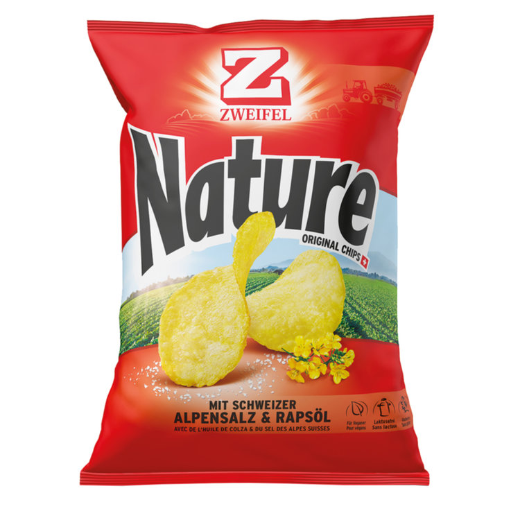 Chips al naturale - Zweifel Chips Nature