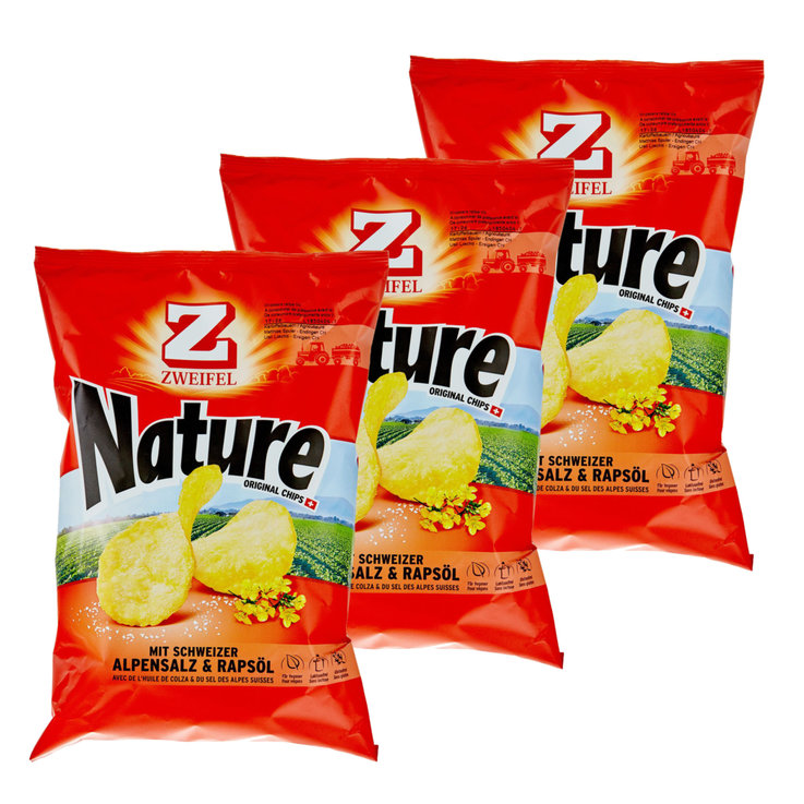 Chips al naturale - Zweifel Chips Nature 2x  175g