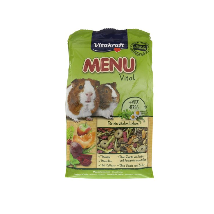 Porcellini d''India - Vitakraft Premium Menu Vital porcellino d'India 1kg