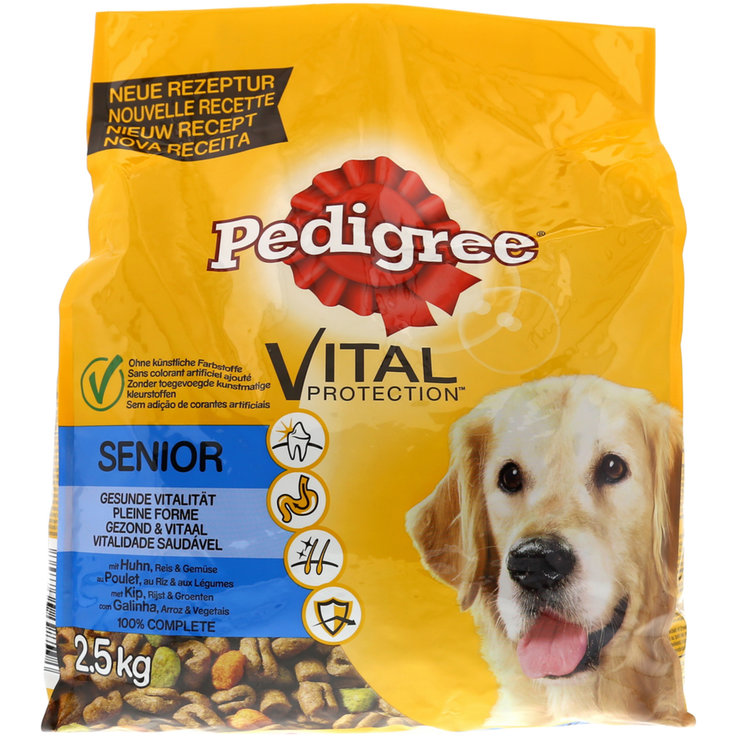 Dry Food - Pedigree Chicken Flavoured Dry Senior Dog Food 8 Years+