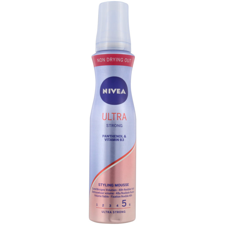 Mousses - Nivea Mousse coiffante Ultra Strong Styling