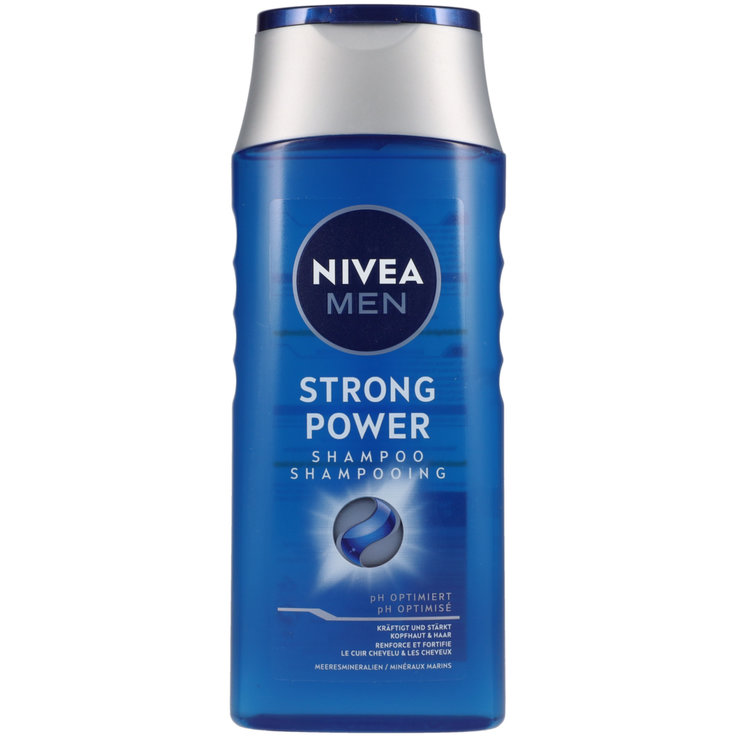 Shampooings normaux - Nivea Men Shampooing Strong Power