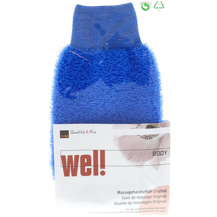 Skincare - Wel! Shower Scrubbing Glove Assorted Colours