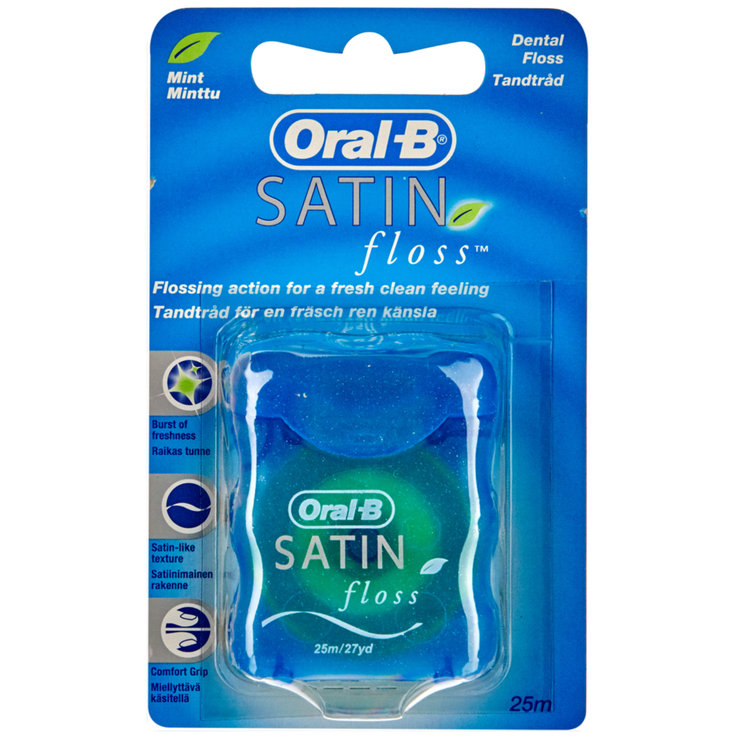 Fil dentaire & Sticks - Oral-B Soie dentaire satin 25m